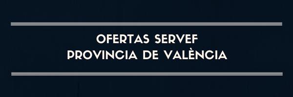 Ofertas provincia de Valencia