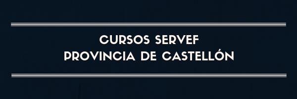 cursos servef castellon gratuitos