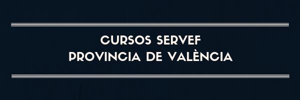 cursos servef valencia gratuitos