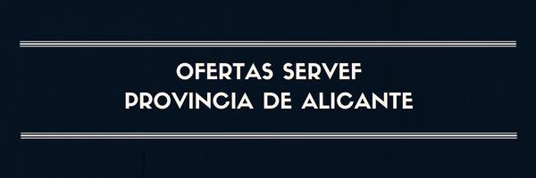 Ofertas provincia de Alicante